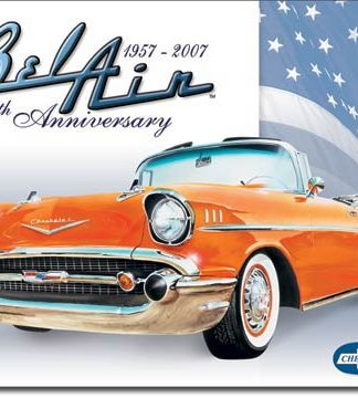 BELAIR 50th ANNIVERSARY LARGE METAL SIGNS