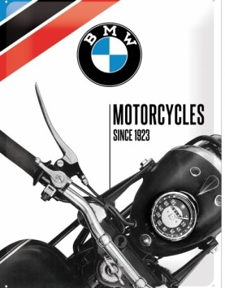BMW MOTORCYCLES SINCE 1923 LARGE METAL SIGNS