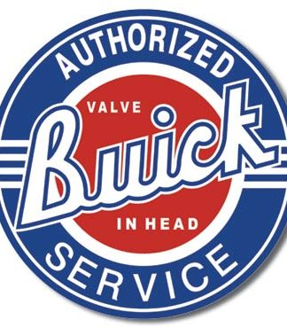 BUICK SERVICE LARGE METAL SIGNS