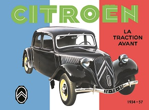 CITROEN LA TRACTION AVANT LARGE METAL SIGNS