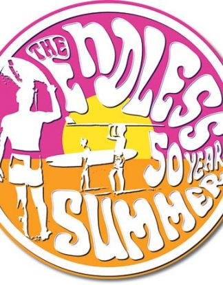 ENDLESS SUMMER DISC LARGE METAL SIGNS