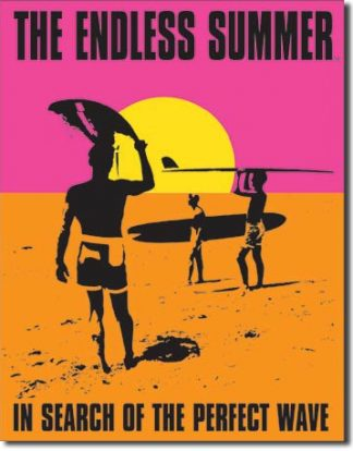 ENDLESS SUMMER IN DEARCH OF POSTER LARGE METAL SIGNS