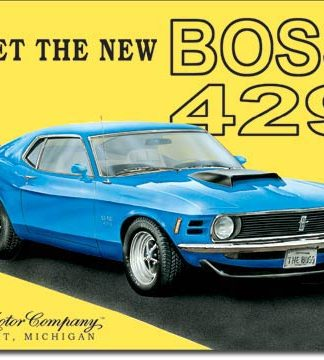 FORD BOSS 429 MEET THE NEW BOSS LARGE METAL SIGNS