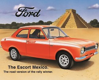 FORD MEXICO LARGE METAL SIGNS