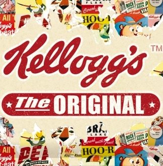KELLOGG'S ORIGINAL MEDIUM SIZE METAL SIGNS