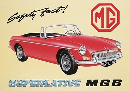 MGB LARGE METAL SIGNS