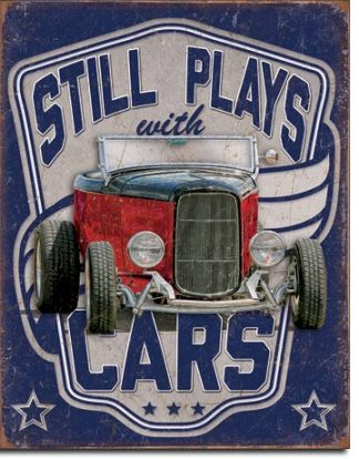 AMERICAN CARS LARGE METAL SIGNS