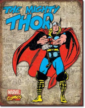 THOR RETRO PANEL COVERS LARGE METAL SIGNS