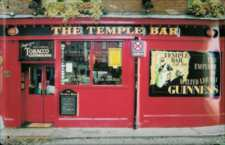 Temple Bar Metal Pub Sign