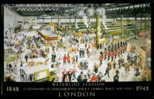 Waterloo Station London 1848